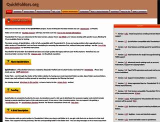 quickfolders.mozdev.org screenshot