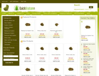 quickkratom.com screenshot