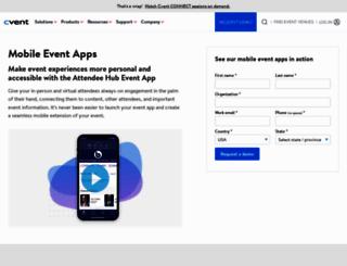 quickmobile.com screenshot