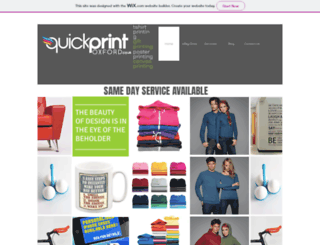 quickprintoxford.co.uk screenshot