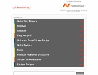 quickresolver.xyz screenshot