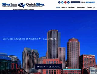 quicksilvatitle.com screenshot