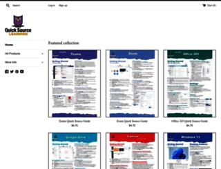 quicksourcelearning.com screenshot
