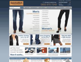 quickstitch.co.uk screenshot