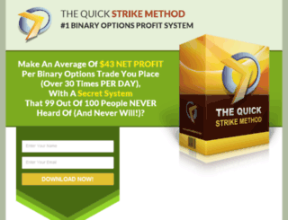 quickstrikemethod.com screenshot