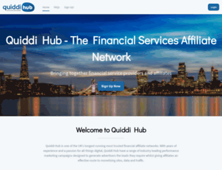 quiddihub.co.uk screenshot
