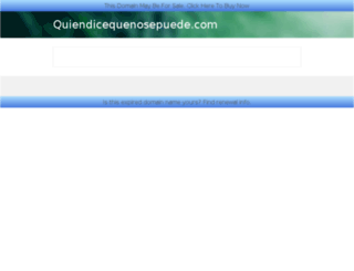 quiendicequenosepuede.com screenshot