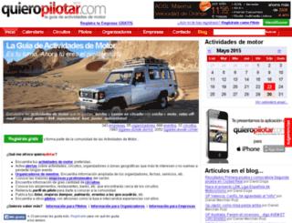 quieropilotar.com screenshot