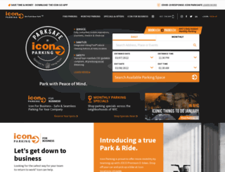 quikparkgarages.com screenshot