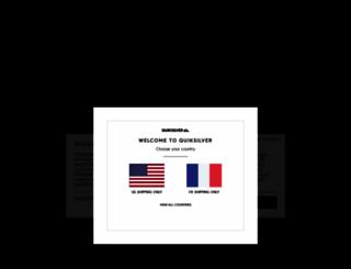 quiksilver.fr screenshot