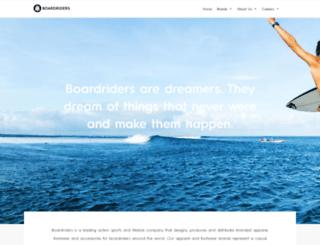 quiksilverinc.com screenshot