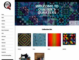 quiltersqtrs.com screenshot