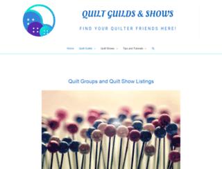 quiltguilds.com screenshot