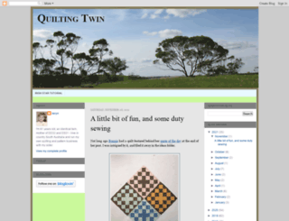 quiltingtwin.blogspot.com.au screenshot