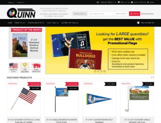 quinnflags.com screenshot