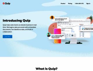 quip.com screenshot