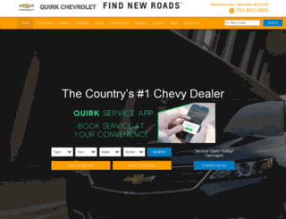 quirkchevy.com screenshot