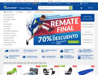 quirumed.es screenshot