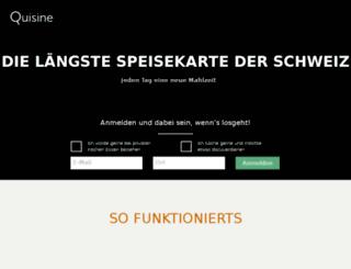 quisine.co screenshot