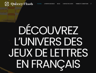 quizzyflash.net screenshot