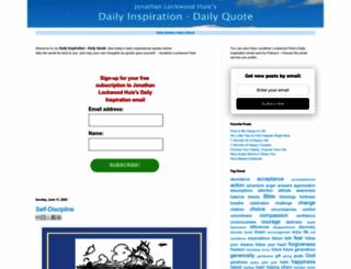 quotes-daily.com screenshot