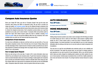 quotesautoinsurance.org screenshot