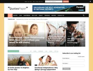 quotespaper.com screenshot
