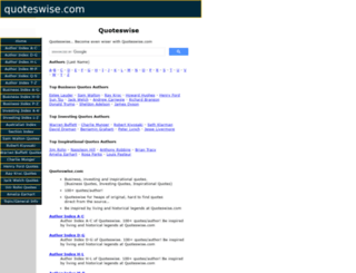 quoteswise.com screenshot