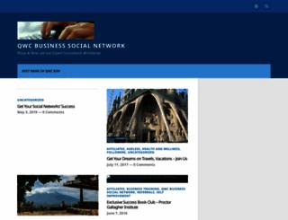 qwcbusinesssocial.wordpress.com screenshot