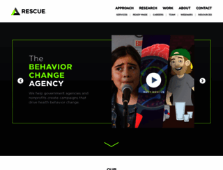 r.rescuescg.com screenshot