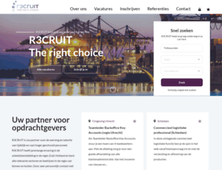 r3cruit.nl screenshot