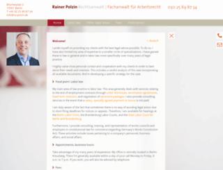 ra-polzin.de screenshot