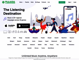 raaga.com screenshot