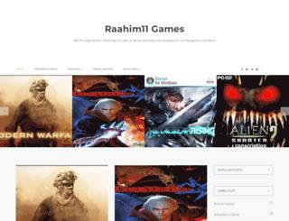 raahim11games.blogspot.com screenshot