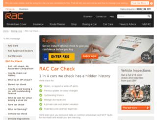 raccheck.com screenshot