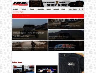race-dezert.com screenshot