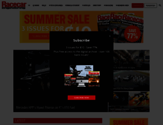 racecar-engineering.com screenshot