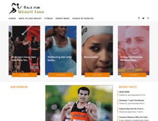 raceforweightloss.com screenshot