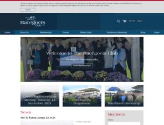 racegoersclub.co.uk screenshot