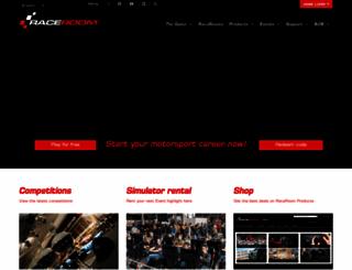 raceroom.com screenshot