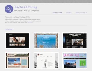 rachaelyoung.co.nz screenshot