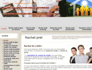 rachatdecredit-simulation.com screenshot