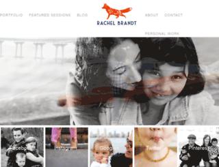 rachelbrandt.com screenshot