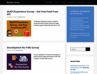 rachelcorrie.org screenshot