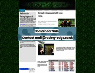 racing-edge.co.uk screenshot