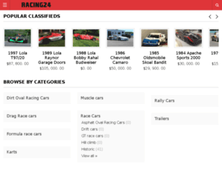 racing24.com screenshot