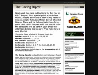 racingdigest.com screenshot