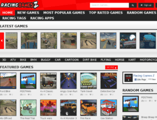 racinggamesz.com screenshot
