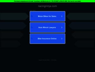 racingninja.com screenshot