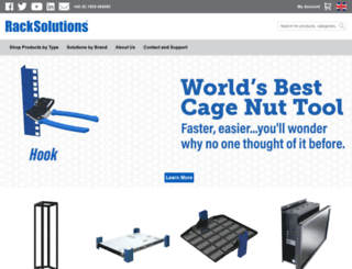racksolutions.co.uk screenshot